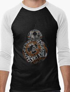 BB-8 Typography Men's Baseball ¾ T-Shirt