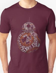 BB-8 Typography T-Shirt