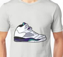 Jordan 5 Retro Grape Shoes Unisex T-Shirt