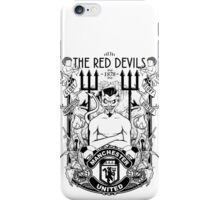 THE RED DEVILS iPhone Case/Skin