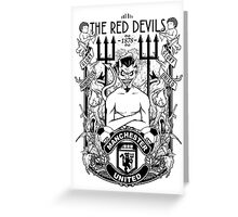 THE RED DEVILS Greeting Card