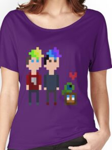 Pixel Jack, Mark and Friends Women's Relaxed Fit T-Shirt