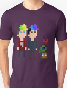 Pixel Jack, Mark and Friends T-Shirt