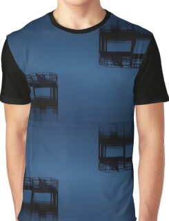 Dock in the Fog Graphic T-Shirt