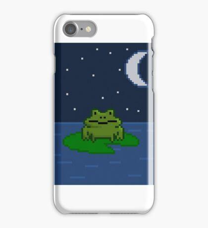 Pixel frog iPhone Case/Skin