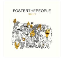 Foster The People Torches Art Print