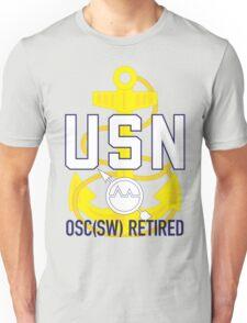 Navy OSC(SW) Retired Unisex T-Shirt