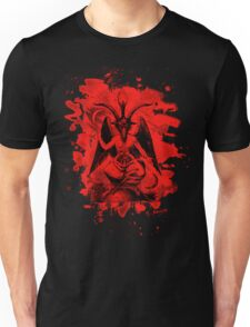 Baphomet bleached - red Unisex T-Shirt