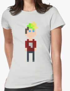 Pixel Jack Womens Fitted T-Shirt