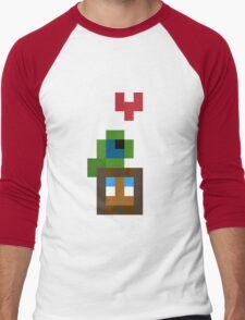 Pixel Best Friends Men's Baseball ¾ T-Shirt