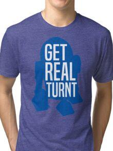 R2D2 - Get Real Turnt Tri-blend T-Shirt