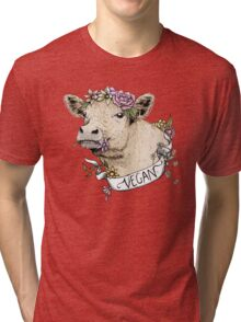 Daisy Vegan Tri-blend T-Shirt