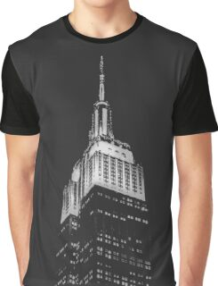 Empire State Building at Night Graphic T-Shirt
