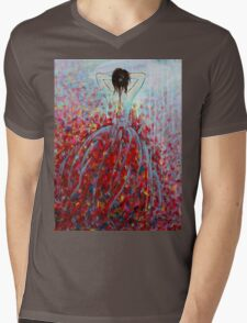 Being a Woman #8 (Lost in Thoughts) Mens V-Neck T-Shirt
