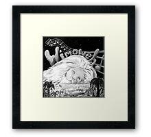 """Wimoweh"" (The Lion Sleeps Tonight) Framed Print"