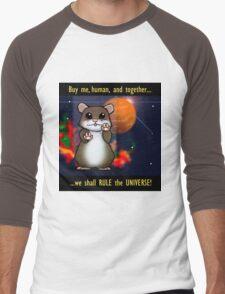 Space Hamster Men's Baseball ¾ T-Shirt