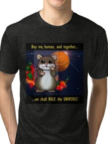 Space Hamster Tri-blend T-Shirt