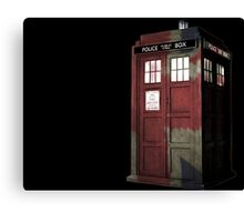 UK Doctor Who Canvas Print