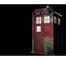 UK Doctor Who Photographic Print
