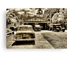 THE WORK SHED Canvas Print
