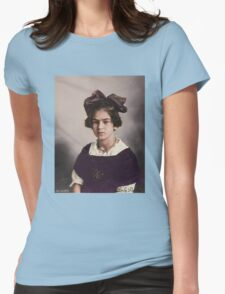 Frida Kahlo Age 12 Womens Fitted T-Shirt