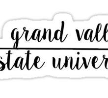 Grand Valley Arrow Sticker