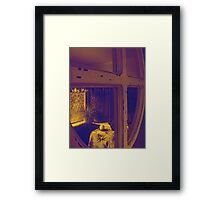 Reflections from Seaford Framed Print