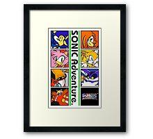 SONIC Adventure Framed Print