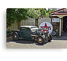 HELLS HOT ROD Canvas Print
