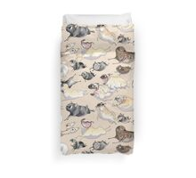 Pugs on the Run! Duvet Cover