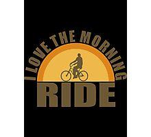 morning ride Photographic Print