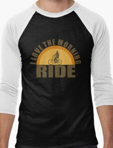 morning ride Men's Baseball ¾ T-Shirt