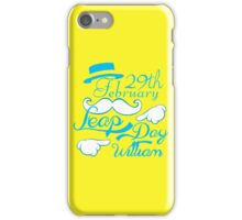 Leap Day Williams iPhone Case/Skin