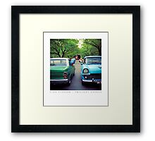 "Tina Fiveash, ""Twilight Avenue"" (reproduction poster) Framed Print"