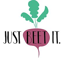 Just Beet It Photographic Print
