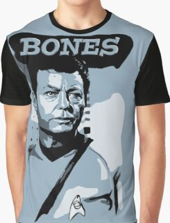 Doctor Bones McCoy - Star Trek TOS Graphic T-Shirt