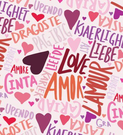 Love Languages Sticker