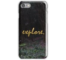 Explore Rubber Forest , Thailand iPhone Case/Skin