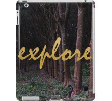 Explore Rubber Forest , Thailand iPad Case/Skin