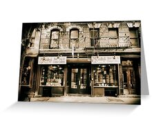 McNulty Coffee and Tea Greeting Card
