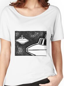 View from the Beamship Portal Women's Relaxed Fit T-Shirt