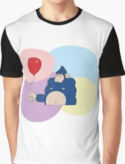 Angry Gorilla Graphic T-Shirt