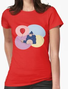 Angry Gorilla Womens Fitted T-Shirt