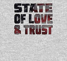 STATE OF LOVE & TRUST Unisex T-Shirt