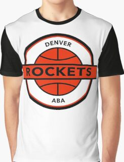 DEFUNCT - DENVER ROCKETS Graphic T-Shirt