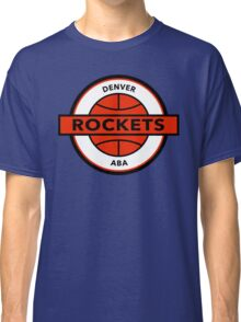 DEFUNCT - DENVER ROCKETS Classic T-Shirt