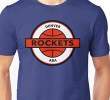 DEFUNCT - DENVER ROCKETS Unisex T-Shirt