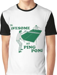 ping pong Graphic T-Shirt
