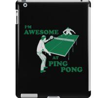 ping pong iPad Case/Skin