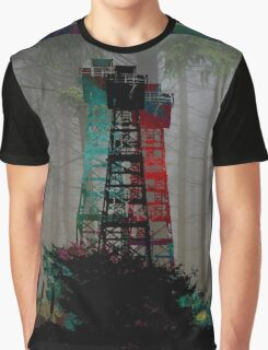 Tri-Color Lookout Graphic T-Shirt
